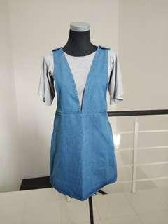 BNWT Denim Dress #CNY888