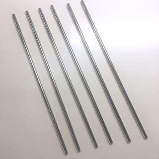 Reusabe drinking straw (lot of 6)