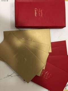 Authentic Cartier ampao/ envelope
