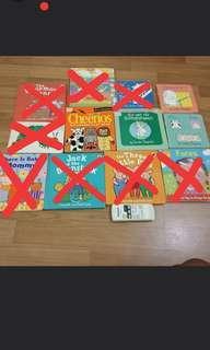 Assorted children board books