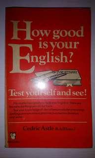 How Good Is Your English - Cedric Astle
