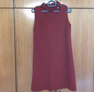 Maroon Dress #CNYRED