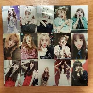 instock wts (g)i-dle gidle idle yuqi unofficial photocards lomocard lomos pc