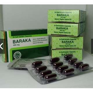 5 BARAKA HABBATUS SAUDA Kapsul 450mg (Set Of 5 Boxes)