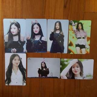 instock wts (g)i-dle gidle idle shuhua unofficial photocards lomocard lomos pc