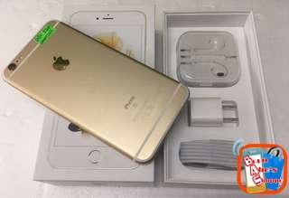iPhone 6splus 32gb Smartlocked Gold (NTC Approved)