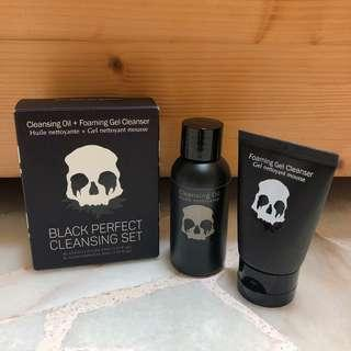 Too cool for school - black perfect cleansing set