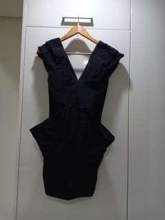 Black Futuristic Dress