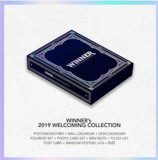 WINNER'S 2019 WELCOMING COLLECTION SEASON GREETING