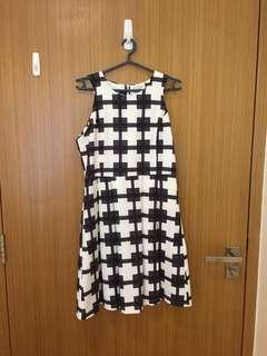 Monochrome Geometric dress