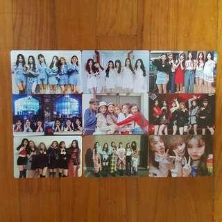 instock wts (g)i-dle gidle idle unofficial photocards lomocard lomos pc
