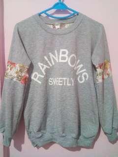Preloved Korean sweatshirt 💚