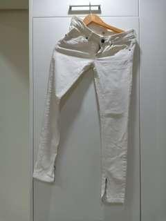 White Pants Skinny jeans