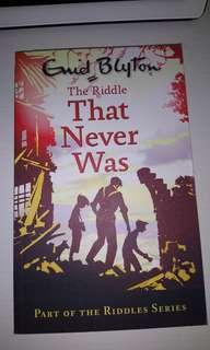 The Riddle That Never Was - Enid Blyton