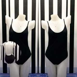 Super sexy! Black lowback one piece swimsuit
