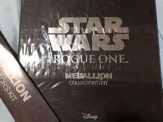 Star Wars Rogue One Medallion Collector's Kit