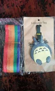 Luggage Tag & Luggage Belt