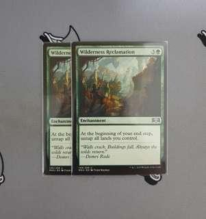 Magic The Gathering - Wilderness Reclamation Card