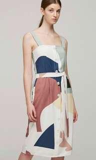 Our Second Nature Roadmap Straight Cut Dress