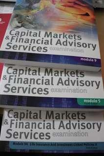 CMFAS M9, M5, M9A & HI Textbooks