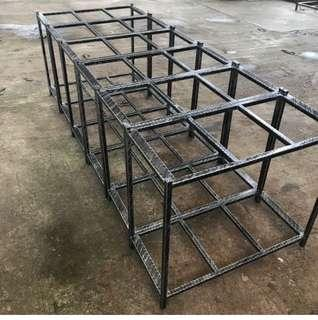 """Rod iron stand 3ft by 1.5ft by 34"""" aquarium stand"""