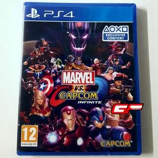 PS4 MARVEL VS CAPCOM INFINITE