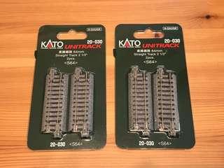 全新Kato 1:150 N scale 20-030 x2