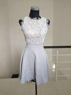 BNWT eyelash laced lilac dress #CNY888