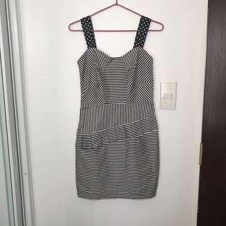 Stripes dress S