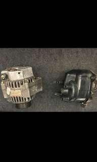 Alternator and distributor for 1998 honda accord