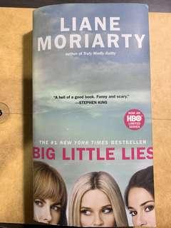 Big Little Lies by Liane Moriarty (pocketbook size)