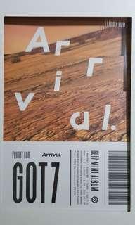 (wts) got7 arrival album