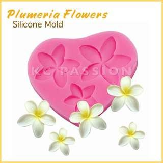 🌼 PLUMERIA FLOWER SILICONE MOLD for Pastry • Chocolate • Fondant • Gum Paste • Candy Melts • Jelly • Gummies • Agar Agar • Ice • Resin • Clay • Candle Wax • Soap • Chalk • Crayon