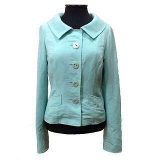 New:U.S mint green blazer