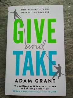 Give and Take. Adam Grant