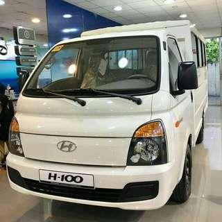Hyundai H1OO Extended family Promo's start 14OK 14OK 14OK Apply Now and get unexpected freebies😊