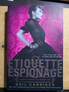 Etiquette Espionage by Gail Carriger