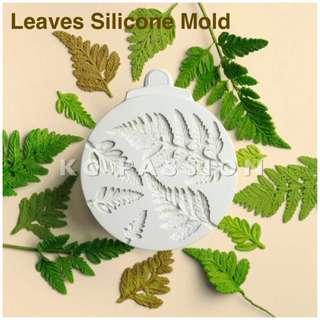 🍃 LEAVES • MIMOSA LEAF SILICONE MOLD for Pastry • Chocolate • Fondant • Gum Paste • Candy Melts • Jelly • Gummies • Agar Agar • Ice • Resin • Clay • Candle Wax • Soap • Chalk • Crayon
