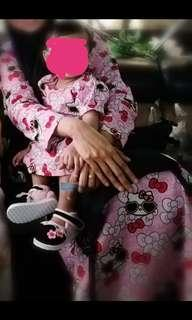 Hello kitty set mummy and daughter #cny888