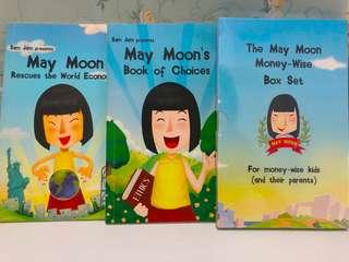 May moon 兒童理財教育書籍