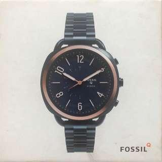 Fossil HYBRID SMARTWATCH - ACCOMPLICE NAVY BLUE STAINLESS STEEL