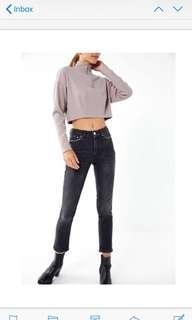BDG Mid rise slim straight jeans
