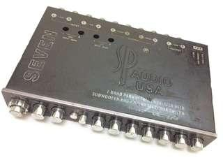 Pre-Loved Car Amplifier SP Audio USA