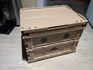 Trusco x DANBOARD 紙箱人 可摺疊收納箱 20L