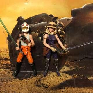 Star Wars Legacy Collection Comic Pack Mara Jade Luke Skywalker