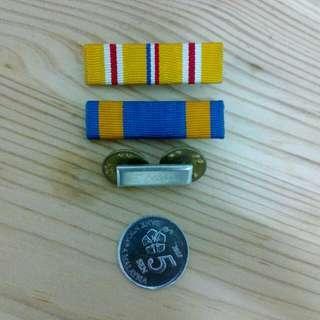 3 U.S. Pin Badge Vintage