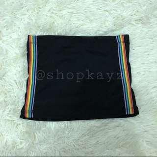 // SALES // rainbow lined tube