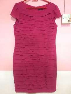 Brand Preview Hot Pink Dress Size 10