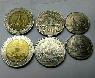 Coins from Thailand