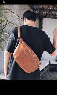 🚚 ✔️INSTOCK! Kyoku Brown Mens Crossbody Sling Bag
